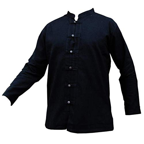 Fisher-Shirt RZI-01, black, XL, longsl.