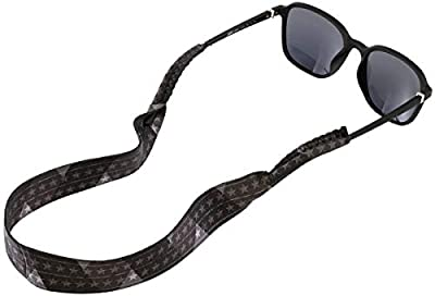 Sunglass Strap for Men & Women - Floating Neoprene Sunglasses Lanyard for Water Sports & Outdoor Adventures - Eyewear Retainer Accessory Neck Band Cord - Keeps Your Glasses Secure - Fits Most Frames