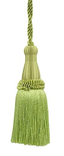 DecoPro décoratifs 14 cm Key Tassel, Vert Printemps, Style # Ktc055 Couleur : Vert Feuille – L43