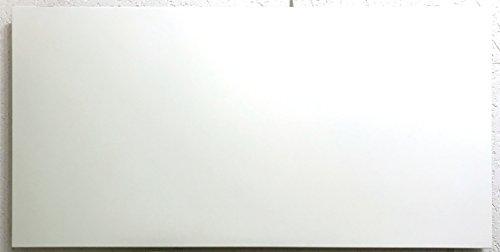 Fenix 5401341 Heizung / Infrarotheizung Comfort 600 – P, + Montagerahmen, pulverbeschichtetes Heizelement für Wand- als auch für Deckenmontage, 600 W mit Stecker, 1192 x 592 x 30 mm, 11,6 kg