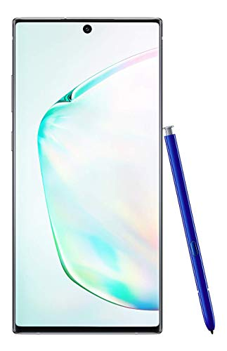 Samsung Galaxy Note 10+ Factory Unlocked Cell Phone with 256 GB (U.S. Warranty), Aura Glow (Silver)...