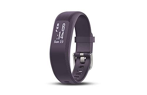 Garmin Vivosmart 3, Purple, S/M (Renewed)