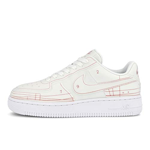 Nike Unisex Air Force 1 Low Sneaker leer wit CI3445-100