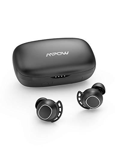Mpow M30 plus ワイヤレス イヤホン bluetooth5.0 スポーツイヤフォン 100時間音楽再生 IPX7防水 AAC Siri対応 MCSync Type-C充電 片耳対応 左右分離型 マイク搭載 タッチコントロール ベースサウンド 完全 ワイヤレス イヤホン iphone Android 18ヶ月保証