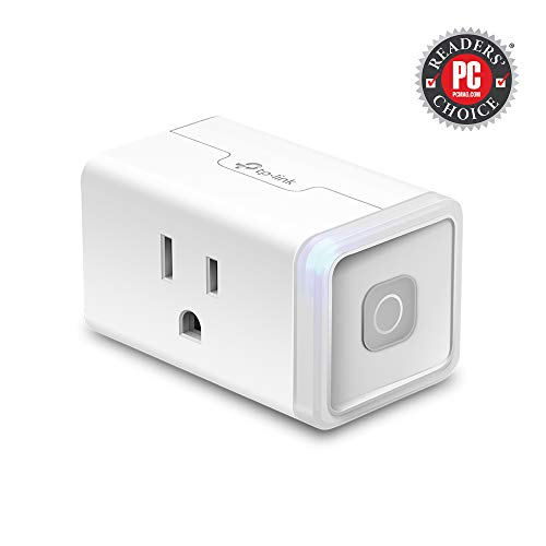 Kasa Smart Plug by TP-Link,Smart Home WiFi Outlet works with Alexa,Echo&Google Home,No Hub Required,Remote Control,12 Amp,UL certified,1-Pack (HS103)