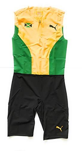 PUMA Herren Pro Elite Jamaica 2013 Laufstrecken- und Feldanzug, Speed-Anzug, Spectra Gelb, Größe XL