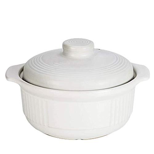 WZHZJ Crisol de guisado de la cazuela de gas doméstico sopa hecha a mano crisol de cocinar hecha de arcilla de la terracota tradicional Variedad de diseños ideales for el cultivo de cocina, arroz, sop