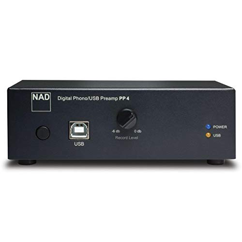 NAD PP4 Digital Phono USB Preamplifier