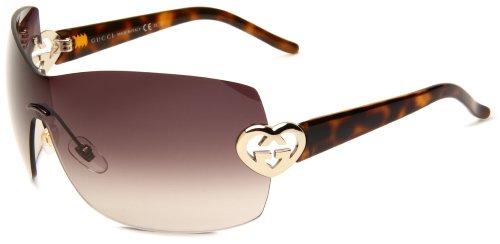 ae14cae3929 Gucci Women s 4200 S Shield Sunglasses