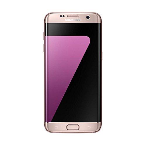 Samsung Galaxy S7 Edge - Smartphone libre de 5.5' QHD (4 G, Bluetooth, Octa-Core de 2.3 GHz, 32 GB memoria interna, 4 GB RAM, pantalla dual Edge Super Amoled, cámara de 12 MP, Android 6.0) rosa dorado