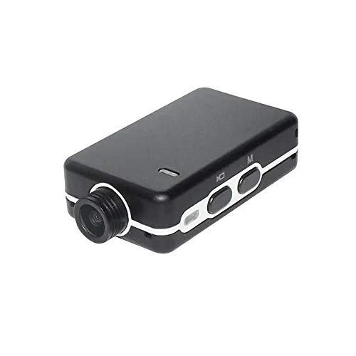 Jtoony Dashcam Mini 1080P 110 Grad Weitwinkel Super Light FPV Full HD Kamera Dashcam 60fps H.264 AVC für Auto Dashcam (Farbe: Schwarz, Größe: Einheitsgröße)