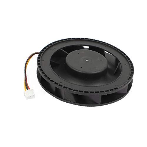 X-DREE Ventilador centrífugo de enfriamiento silencioso sin ventilador de 12 'DC 12V 100mm x 25mm(DC 12V 100mm x 25mm Quiet Brushless Blower Cooling Centrifugal Fan