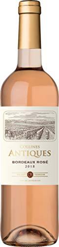 Collines Antiques, Bordeaux, vino rosato, annata 2018, 750 ml