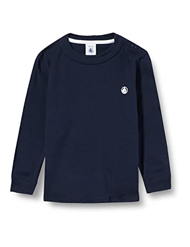 Petit Bateau A0242 T-Shirt, Bleu, 24 Mois Bébé garçon