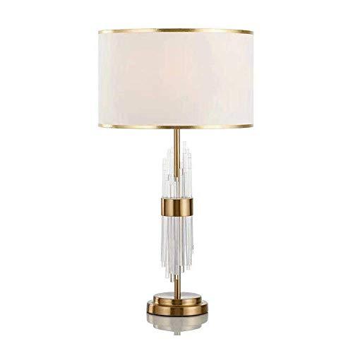 Eenvoudige bedlampje, moderne minimalistische tafellamp, 70 cm hoog, Perfect nachtlamp op nachtkastje in de slaapkamer, woonkamer, kantoor, Study (70 * 38cm)