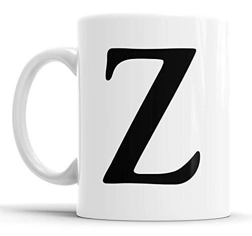 Faithful Prints - Taza de café con diseño de letras (letra G)