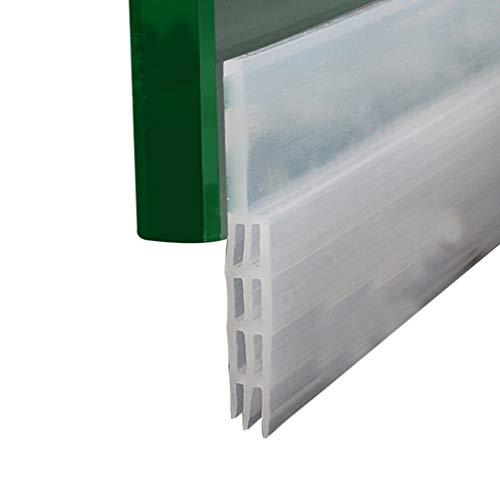 GladiolusA Selbstklebende Tür Türdichtung Dichtungsstreifen Zugluftstopper Gegen Insekt Ersatzdichtung Wetterfest Blocker Schalldichtung LQ6 1M Transparent 0-23mm