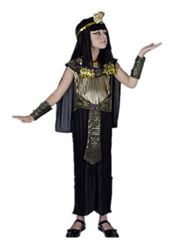Gbcyp Egyptische farao kostuum jongen meisje halloween farao cosplay kostuum