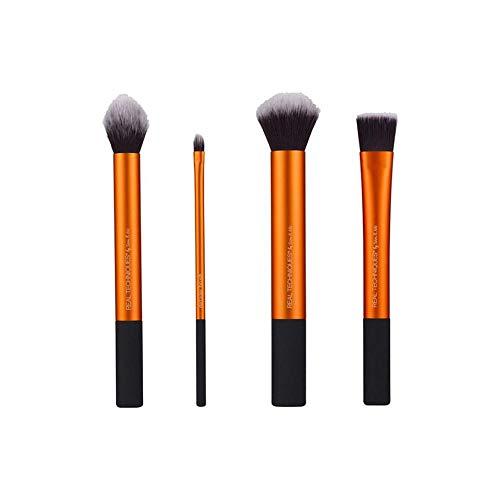 Fanxp® 4 pièces Flawless Base Brush Set Gold/Black-Black & Gold