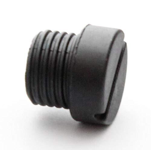 Vervangende zwarte borstelkap voor KitchenAid mixer met kantelkop
