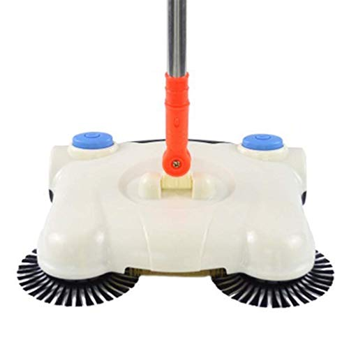 LKK-KK Empuje manualmente barredora limpiador de vacío escoba mágica casa