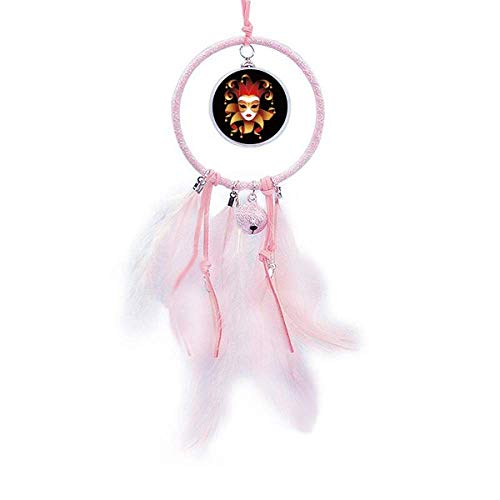 Beauty Gift Mysterious Head Happy Carnival of Venice Dream Catcher Small Bell Bedroom Decor