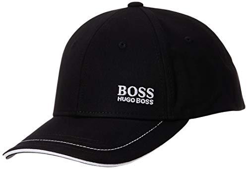 Boss Green 50245070-001 Men's Logo Twill Cap 1, New Black, One Size