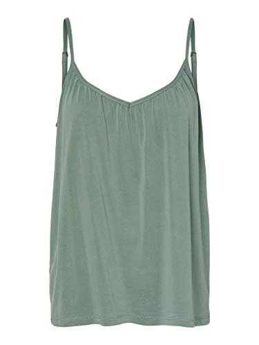 VERO MODA Damen VMFILLI Singlet GA NOOS Top, Laurel Wreath, S