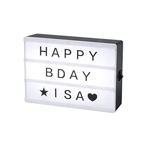 Caja de Luz LED con 82 Piezas Light Box Ideal para Decoración...