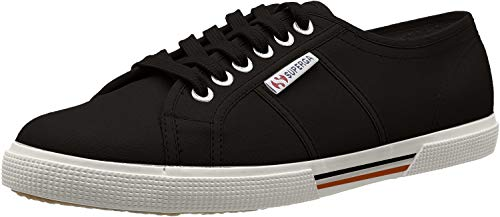 Superga Unisex-Erwachsene Cotu Low-top Sneakers, Schwarz (black), 41 EU