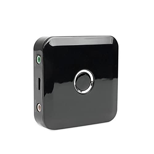 Ricevitore Trasmettitore Musicale Bluetooth, Ricevitore Bluetooth Uscita Stereo Da 3,5 mm Trasmettitore Ricevitore Audio Bluetooth 2 in 1 per TV / PC / Sistema Stereo Domestico
