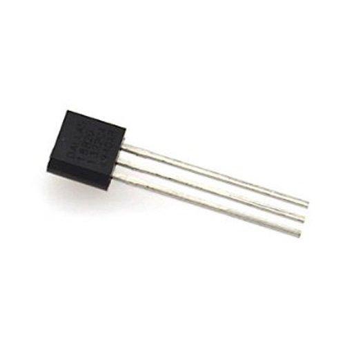 TOOGOO(R) 2PCS DALLAS DS18B20 18B20 a-92 Sonde de Temperature pour PC Noir