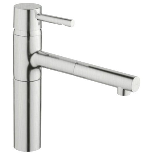 Big Sale Best Cheap Deals Grohe 32 170 DCE Essence WaterCare Single Spray Pull-Out Kitchen Faucet, SuperSteel