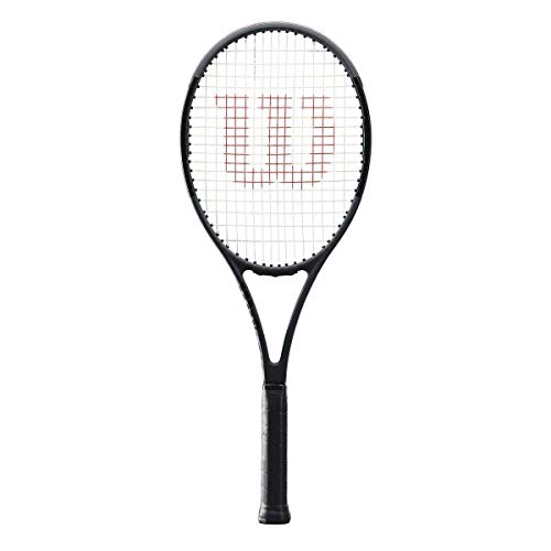 Wilson Pro Staff 97 Countervail (CV) Matte Black Tennis Racquet Strung with Custom String Colors