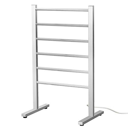 SHARNDY 6-Bars Portable Electric Towel Warmer ETW78-1S with...