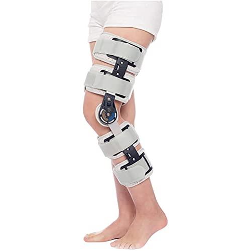 SXFYGYQ Rodillera ROM con Bisagras, Estabilizador De Pierna Ajustable, Inmovilización De Recuperación Después De La Cirugía para Estabilización De Recuperación, Estabilizador De Soporte Ortopé