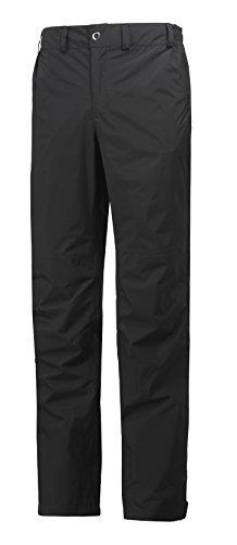 Helly-Hansen Men's Packable Rain Pant, Black, Large