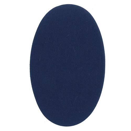 6 Rodilleras Color Azul Claro termoadhesivas de Plancha. Coderas para Proteger tu Ropa y reparación de Pantalones, Chaquetas, Jerseys, Camisas. 16 x 10 cm