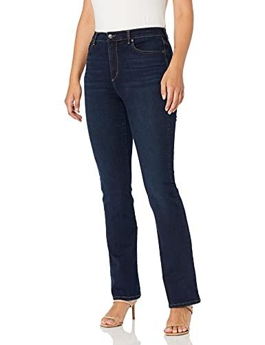 Gloria Vanderbilt Women's Amanda High Rise Boot Cut Jean, Parker, 14