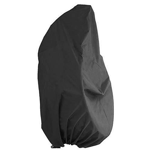 Happymore - Funda para silla de columpio con huevos, tela Oxford, resistente al polvo y protección de muebles, No nulo, negro, Tamaño libre