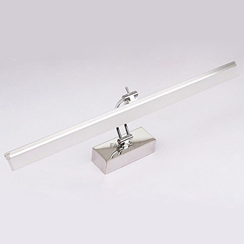 badezimmerlampe LED Spiegel Scheinwerfer, Badezimmer Make-up Lichter Spiegel Lichter Badezimmer Spiegel Schrank Lichter Schminklicht (Farbe   Wei-40cm)