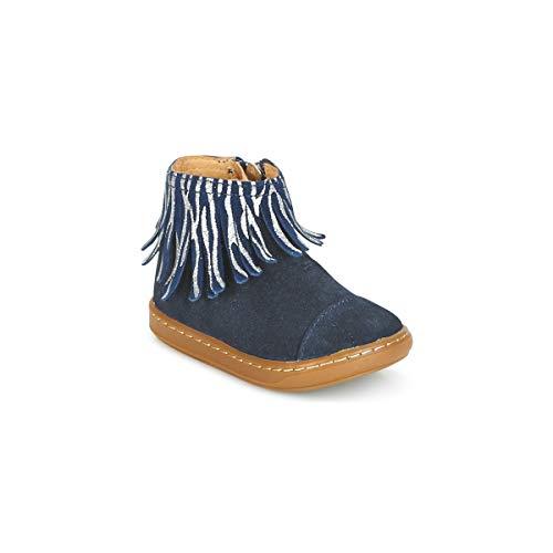 SHOO POM Bouba Fringe Stiefelletten/Boots Madchen Blau - 23 - Boots