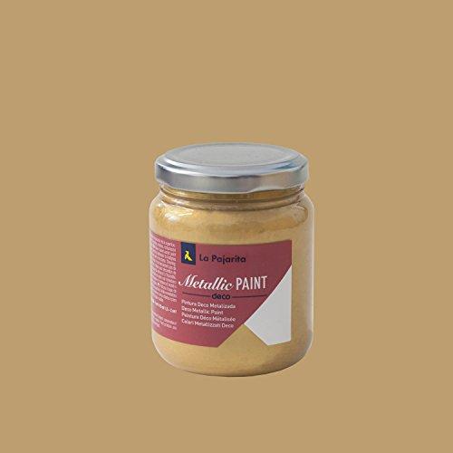 La Pajarita 106237 Pintura, Oro, 175 ml