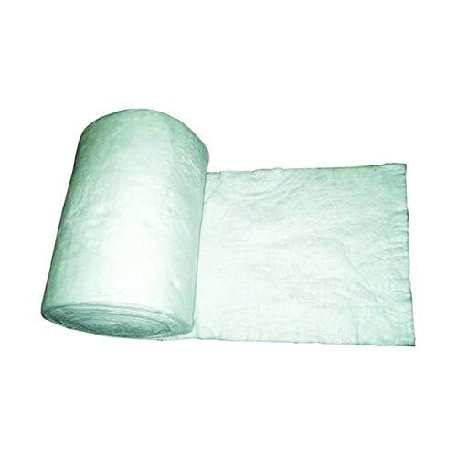 termoaislante cerámica refractaria estera de fibra rollo 14,6mt. x0,61mt. 13 mm de espesor.