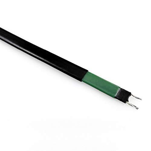 Ztengyu-Cable metálico Ancho de 8 mm 20W / M se puede usar dentro de tuberías Cable de calentamiento de la protección de congelación de autocontrol / alambre caliente para la descongelación, la fusión
