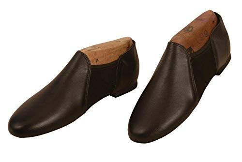 Slip on Jazz Shoes Neoprene Jazz Dance Shoes, Jazz & Modern Dance Shoes (Black, 2)