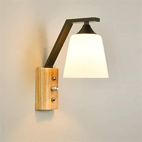 Speciale wandlamp in de vorm van de lamp design schaduw slaapkamer hal trap nachtgeleider glazen wand industriële wandlamp