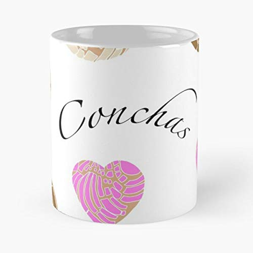 Conchas Mexican Concha Bread Bakery Pan Sweet Mexico Dulce Best 11 Ounce Ceramic Coffee Mug