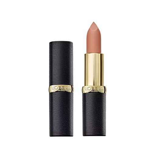 L'Oréal Paris Color Riche Matte 652 Stone, matter Lippenstift mit pflegenden Ölen, cremige Textur für maximalen Lippenkomfort