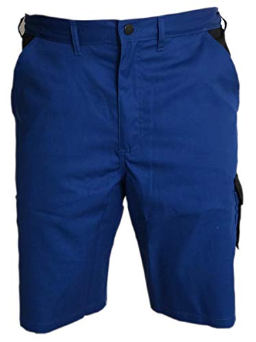 Stonekit Odense Shorts Arbeitshose Arbeitsshorts Kurze Hose Bermuda (blau/schwarz, 54)